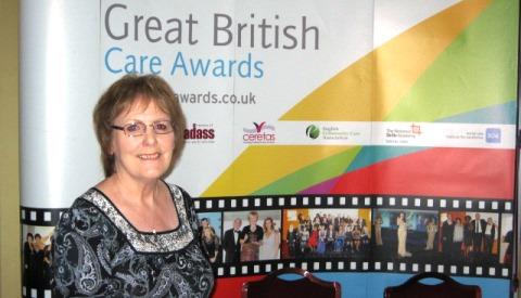 Lady Verdin Trust Nantwich worker in national care finals