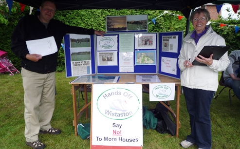 "Hands Off Wistaston campaigners demand ""Green Belt"" to fight off developers"