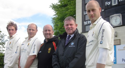 Nantwich Cricket Club sign two-year sponsorship with Blue Bell BMW