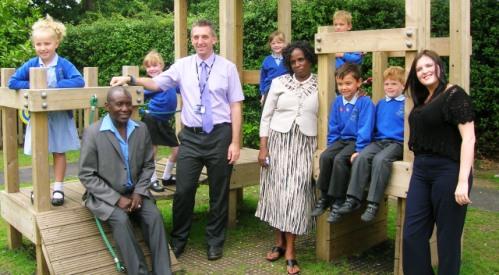Kenyan teachers visit Nantwich primary school on exchange