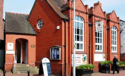 exhibition half term Nantwich Museum, flagday, stages First World War talks