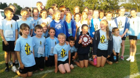 Nantwich primary school crowned Town Sports 2013 champions