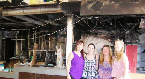 Nantwich mum's bid to rebuild Playworld after devastating fire