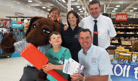 Leonard Brothers Vets stage Nantwich Sainsbury's event