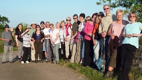 South Cheshire Ramblers enjoy Nantwich Riverside Loop