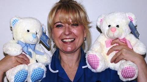 Leighton Hospital League of Friends hands out free teddy bears