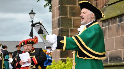 Nantwich to host fourth national Town Crier competition