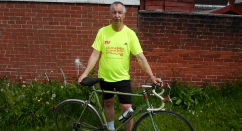 "Cyclist tackles ""60 at 60"" challenge for Leukaemia research"