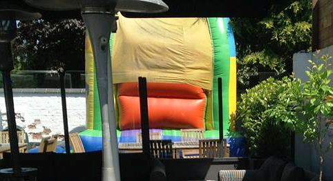 of bouncy castle thieves target two nantwich pubs