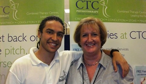 CTC Physiotherapy teams up for Nantwich Show marquee