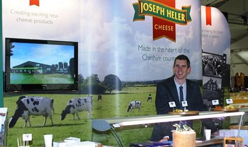 Nantwich Joseph Heler boss celebrates 8 golds at cheese awards
