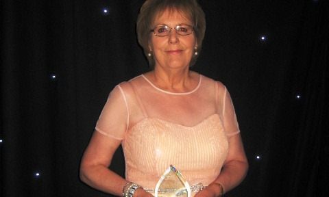 Crewe & Nantwich charity worker praised at national care awards