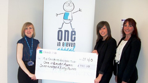Recruitment firm donates £750 to One in Eleven neonatal campaign
