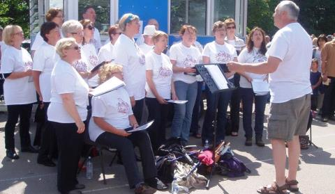 Nantwich-based The Funky Choir invites new members