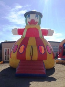 Jolly Tar bouncy castle stolen