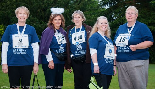 Nantwich-Crewe Midnight Walk big success for St Luke's Hospice
