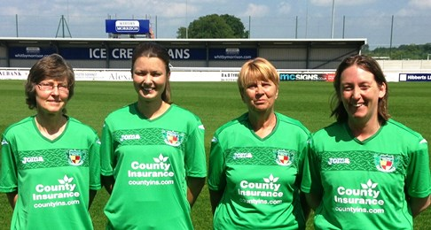 Nantwich Town Ladies team appeals for more players