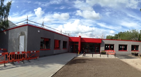 Work on new-look Nantwich swimming pool almost complete