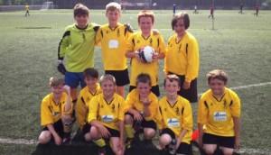 Pear Tree football team