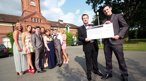 Nantwich college students donate £6,000 to war veterans charity
