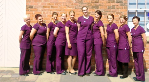 Nantwich beauty school students celebrate graduation