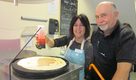 """Nantwich coffee shop launches """"Design a Crepe"""" competition"""