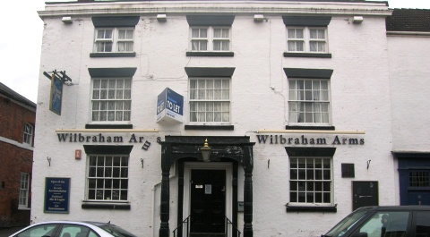 Wilbraham Arms on Welsh Row in Nantwich closes down