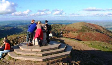 Crewe & Nantwich Rambling Club parties enjoy Malvern Hills walks