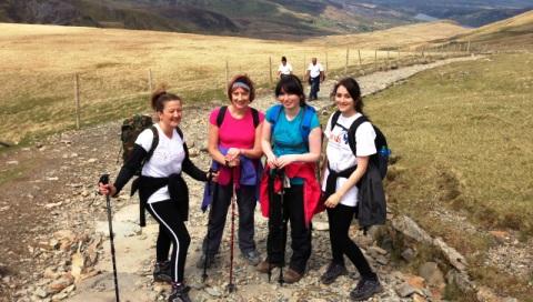 Yorkshire Building Society staff in Nantwich raise Sands money