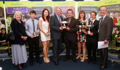 Reaseheath College celebrates top students at Nantwich graduation