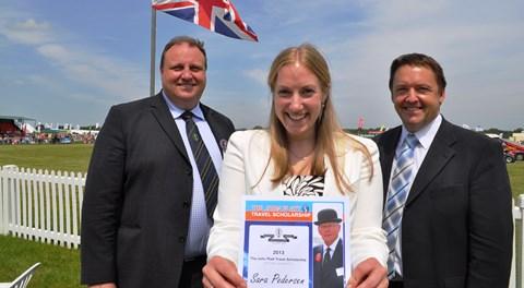 Nantwich vet worker earns John Platt Scholarship at Cheshire Show