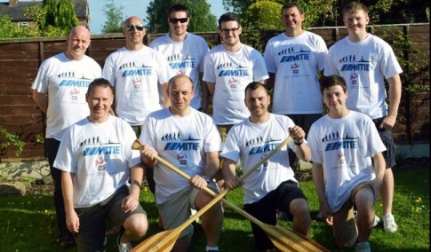 12 Nantwich fundraisers to paddle 127 miles down River Severn