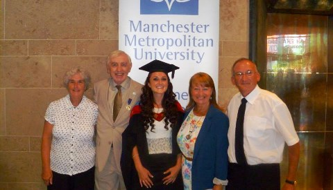 Pioneering South Cheshire bursary students graduate from university