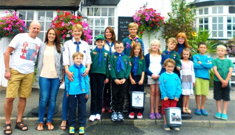 Villagers raise vital Scout funds at Wybunbury 50th party