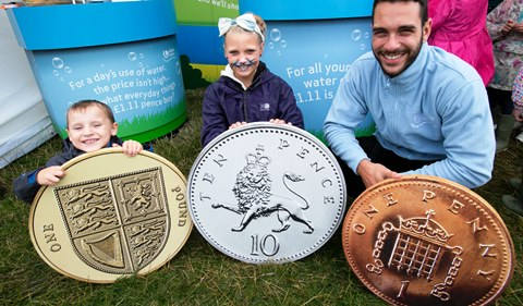 Nantwich youngsters learn water facts at United Utilities event