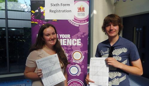 Nantwich pupils at Brine Leas and Malbank celebrate GCSE results