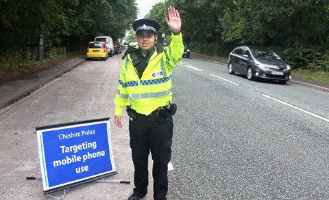 Police crackdown on Cheshire East rogue drivers hailed success