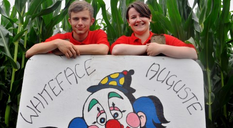 Reaseheath College maze and zoo pull in Nantwich crowds