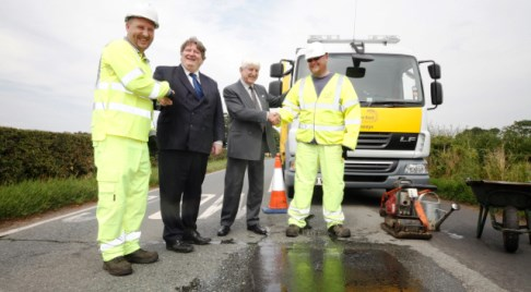 18,420 Nantwich potholes repaired in 2013, says Cheshire East