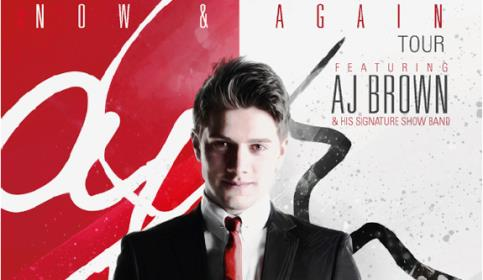 """AJ Brown, the new """"Michael Buble"""", to perform live in Nantwich"""