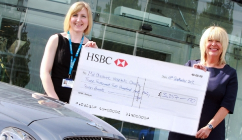 Bentley Motors donates £3k to Leighton Hospital One in Eleven Appeal