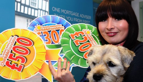 Nantwich charities cash boost from town's Yorkshire Building Society