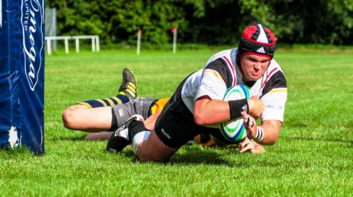Crewe & Nantwich RUFC player Dave Germain