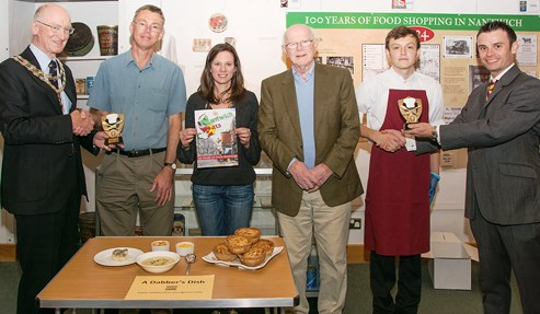 "Pie and soup scoop top prize in ""Dabber's Dish"" Nantwich contest"