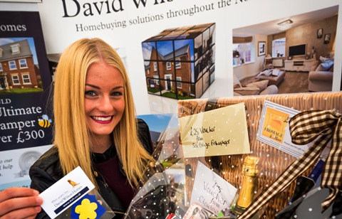 David Wilson Homes' hospice boost from Nantwich Food Festival