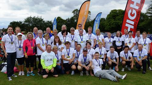 Workers raise cancer cash at North West Triathlon in Nantwich