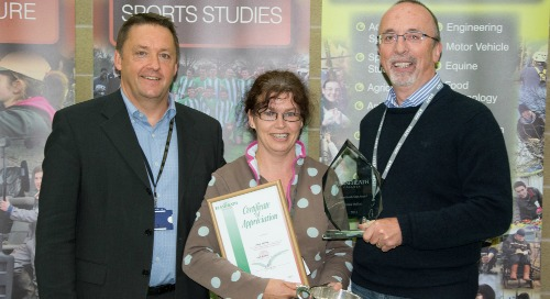 """Stars"" of Reaseheath College in Nantwich scoop Awards of Excellence"