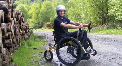 Nantwich Mountain Trike entrepreneur misses out on Dragon's Den funding