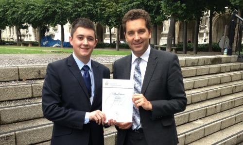 Young Nantwich cadet scoops Duke of Edinburgh Gold honour