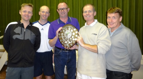 Wistaston tennis players celebrate at 2013 awards event